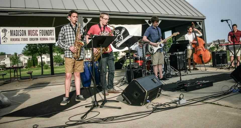 Madison Music Foundry Foundry Soul Band Blue Dyes Programs Education