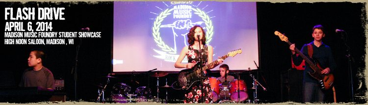 Rock Workshop Band Flash Drive to Play AtwoodFest