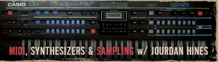 Class is on! MIDI, Synthesizers & Sampling on April 16
