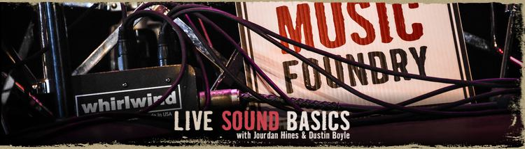 Registration for Live Sound Basics is open all week!