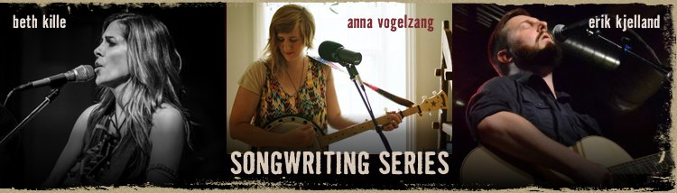 Class is on! Songwriting with Anna Vogelzang Feb. 13