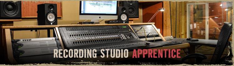Recording Studio Apprentice