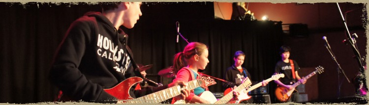 Musicians needed: guitarist, vocalist age 8-10; guitarist, keyboardist, vocalist age 12-14