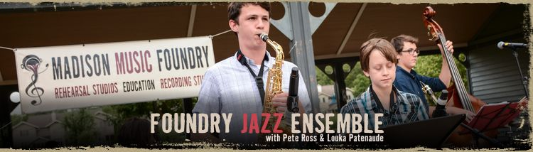 Foundry Jazz and Soul Ensembles
